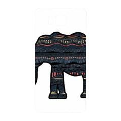 Ornate mandala elephant  Samsung Galaxy Alpha Hardshell Back Case