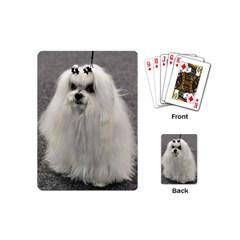 Maltese 2 Playing Cards (Mini)