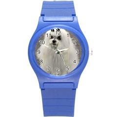 Maltese 2 Round Plastic Sport Watch (S)