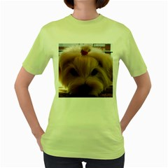 Maltese 3 Women s Green T-Shirt