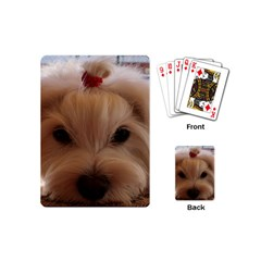 Maltese 3 Playing Cards (Mini)
