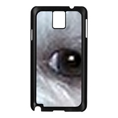 Maltese Eyes Samsung Galaxy Note 3 N9005 Case (Black)