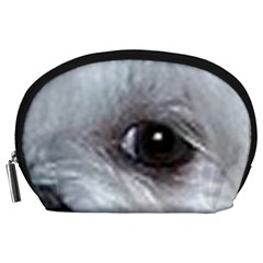 Maltese Eyes Accessory Pouches (Large)