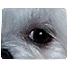 Maltese Eyes Jigsaw Puzzle Photo Stand (Rectangular)