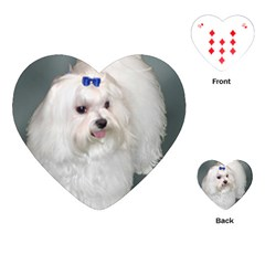 Maltese Full 2 Playing Cards (Heart)