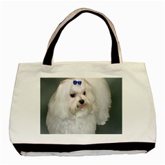 Maltese Full 2 Basic Tote Bag (Two Sides)