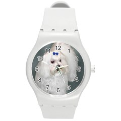 Maltese Full 2 Round Plastic Sport Watch (M)
