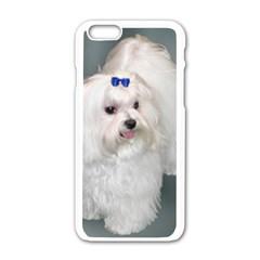 Maltese Full 2 Apple iPhone 6/6S White Enamel Case