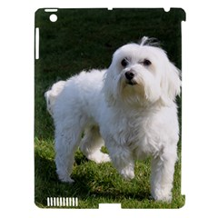 Maltese Full Apple iPad 3/4 Hardshell Case (Compatible with Smart Cover)