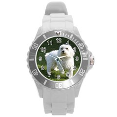 Maltese Full Round Plastic Sport Watch (L)
