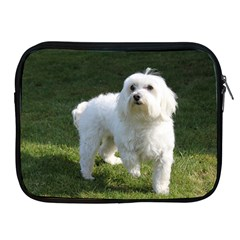 Maltese Full Apple iPad 2/3/4 Zipper Cases