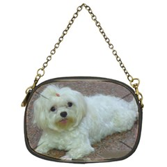 Maltese Laying Chain Purses (One Side)