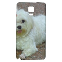 Maltese Laying Galaxy Note 4 Back Case