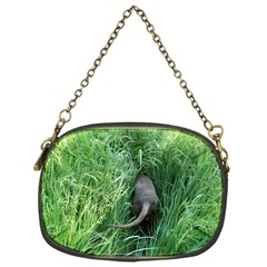 Weim In The Grass Chain Purses (One Side)