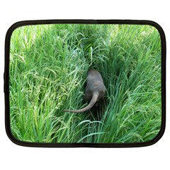 Weim In The Grass Netbook Case (XXL)
