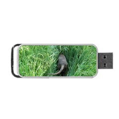 Weim In The Grass Portable USB Flash (One Side)