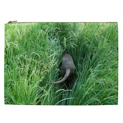 Weim In The Grass Cosmetic Bag (XXL)