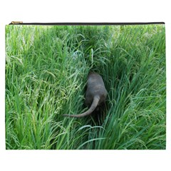 Weim In The Grass Cosmetic Bag (XXXL)