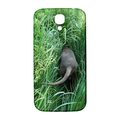 Weim In The Grass Samsung Galaxy S4 I9500/I9505  Hardshell Back Case