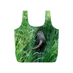 Weim In The Grass Full Print Recycle Bags (S)