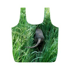 Weim In The Grass Full Print Recycle Bags (M)
