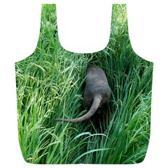Weim In The Grass Full Print Recycle Bags (L)