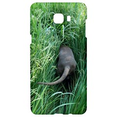 Weim In The Grass Samsung C9 Pro Hardshell Case