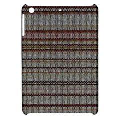 Stripy Knitted Wool Fabric Texture Apple Ipad Mini Hardshell Case
