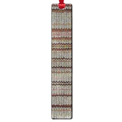 Stripy Knitted Wool Fabric Texture Large Book Marks