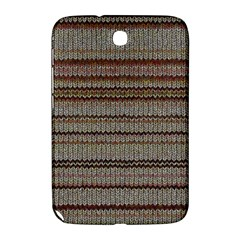 Stripy Knitted Wool Fabric Texture Samsung Galaxy Note 8.0 N5100 Hardshell Case