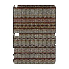 Stripy Knitted Wool Fabric Texture Galaxy Note 1