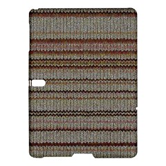 Stripy Knitted Wool Fabric Texture Samsung Galaxy Tab S (10 5 ) Hardshell Case