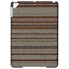Stripy Knitted Wool Fabric Texture Apple Ipad Pro 9 7   Hardshell Case