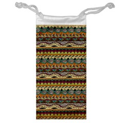 Aztec Pattern Jewelry Bag