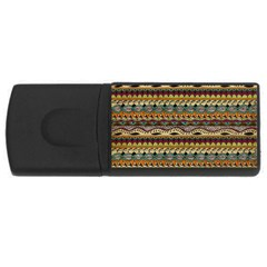 Aztec Pattern USB Flash Drive Rectangular (4 GB)