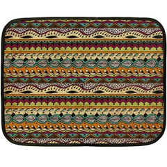 Aztec Pattern Fleece Blanket (mini)