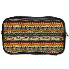 Aztec Pattern Toiletries Bags