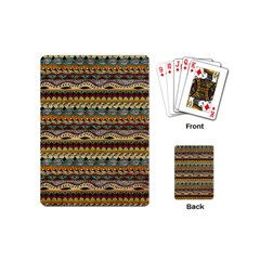 Aztec Pattern Playing Cards (Mini)