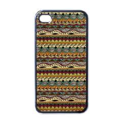 Aztec Pattern Apple iPhone 4 Case (Black)