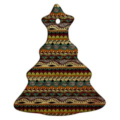 Aztec Pattern Ornament (christmas Tree)