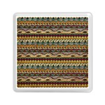 Aztec Pattern Memory Card Reader (Square)  Front