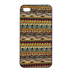 Aztec Pattern Apple iPhone 4/4s Seamless Case (Black)