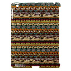 Aztec Pattern Apple Ipad 3/4 Hardshell Case (compatible With Smart Cover)