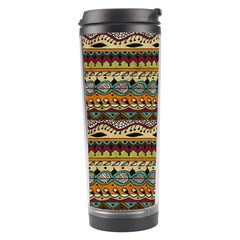 Aztec Pattern Travel Tumbler
