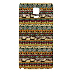 Aztec Pattern Galaxy Note 4 Back Case