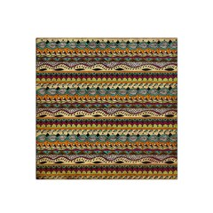 Aztec Pattern Satin Bandana Scarf