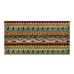 Aztec Pattern Satin Wrap