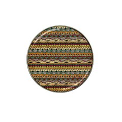 Aztec Pattern Hat Clip Ball Marker