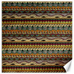 Aztec Pattern Canvas 20  X 20