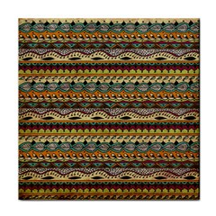Aztec Pattern Face Towel